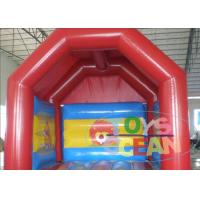 China Indoor Colorful Mini Inflatable Jump House For Children Playground With Free Repair Kit wholesale