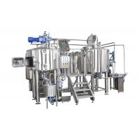 China 30HL Capacity 4 Vessel Brewhouse SS304 Fabrication Gas Fired Heating For Brewery on sale