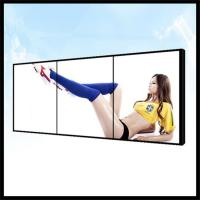 China Wall Mounted 1 * 3 LCD Video Wall Screen Uitra Thin For Runway Show Fashion Shops on sale