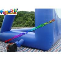 11 x 10 Dark Blue Inflatable Movie Screen , Inflatable Projector Screens / Theater