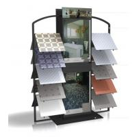 China Simple retail two sided flooring display racks with printing, PVC foam for holds ceramics wholesale