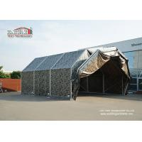 China Aluminum Frame Temporary Aircraft Hangar Tent Structure With PVC Roof For Military wholesale