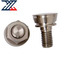China Professional CNC Machining Services , Silver Coated 304 Stainless Steel Nut wholesale