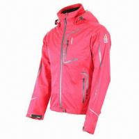 China Women's jacket, waterproof, breathable, 3-layer softshell fabric, fully seams taped wholesale