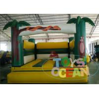 China Commercial Coconut Tree Bear Inflatable Jumping Houses Castle For Kids Playground wholesale