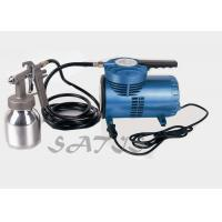 China Portable spray paint gun with air compressor , hvlp spray gun small compressor 7.2cfm wholesale