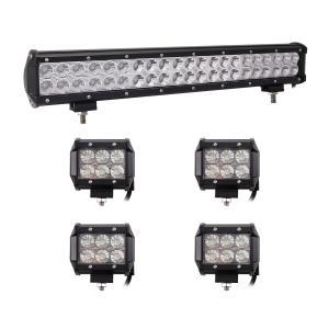 China Cars Auto Parts LED Mini Flood Work Light Bar IP68 LED Offroad Light Bar Fog Lights wholesale