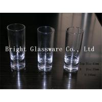 China mini wine glass shot glass, solid color glass cup wholesale