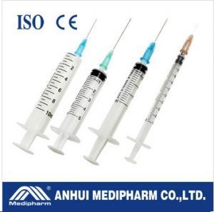 China Syringes +Needle for injection on sale