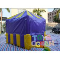 China Amusement Park Party Inflatable Tents , Ice Cream Booth Candy Inflatable Garden Tent House wholesale