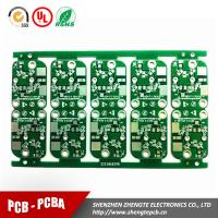 Buy cheap double sided pcb ROHS compliant HSAL PCB CHINA manufacturer from wholesalers