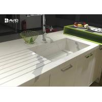 China Calacatta Pattern White Quartz Countertops That Look Like Marble For Kitchen wholesale