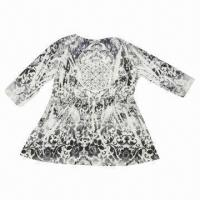Buy cheap Printed Long-sleeved Blouse from wholesalers