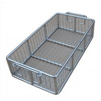 China Stainless Steel Metal Wire Basket for fruit washing / frying /steaming wholesale