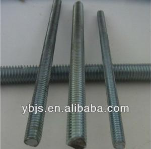 China DIN975 Grade 4.8/8.8/10.9/12.9 Plain, Black, Galvanized Threaded Rod on sale