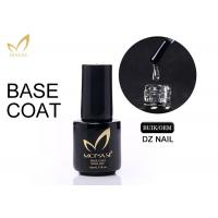 China No Odour Long Stay Base Coat Uv Gel , Gel Top And Base Coat Eco - Friendly wholesale