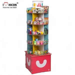 China Inspire Kids Floor Standing Spinner Display Rack POP Toy Store Display Stand wholesale