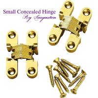 China cupboard small concealed hinge SOSS Invisible Hinge Jewelry Box Hinge wholesale