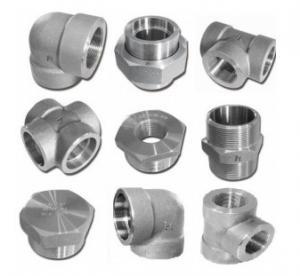 China 6000lb 2'' Socket Weld Fittings Elbow / Tee / Cross / Union / Plug wholesale