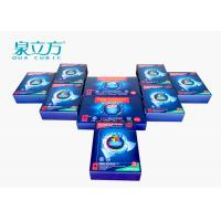 China Hand Washing Powder Sheets Dissolve Quickly With 24 Pcs Color Capture Kit wholesale