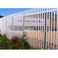 Buy cheap Hot Dip Galvanized Metal Palisade Fencing Heat Treated Pressure Treated Wood Type from wholesalers