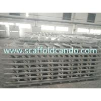 China 550*2677mm,550*2515mm,550*2397mm scaffolding galvanized stair case steel ladder for frame scaffolding system wholesale