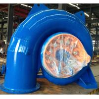 China Stainless Steel Runner Horizontal Small Francis Turbine 100kW - 500kW wholesale