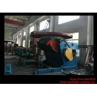 China 1.2T Pressure Vessel Pipe Rotary Welding Positioner With Worktable Revolving And Tilting Type wholesale