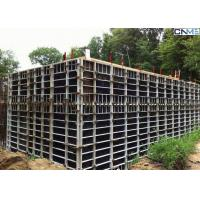 China Steel Concrete Wall Formwork With Adjustable Clamp for Straight Wall Construction wholesale