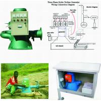 China 50HZ / 60HZ Micro Hydro Generator , 3 Phase Mini Water Turbine Generator wholesale