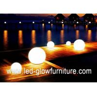 China RGB LED sphere mood changing lights with Certified Rechargeable Lithium Battery wholesale