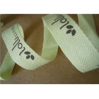 Quality Light Weight Cotton Webbing Tape Woven Jacquard Ribbon Printing Colored for sale