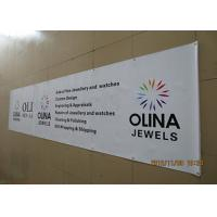 China Single Side Pvc Banner Printing , Custom Vinyl Banners & Signs Uv Resistant on sale
