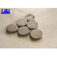 China Primary  LiMnO2 CR2032 Lithium Battery Coin Cell Durable For Watch wholesale