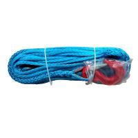 China Blue 12 Strand Synthetic Winch Rope Longer Working Life Extremely Light wholesale