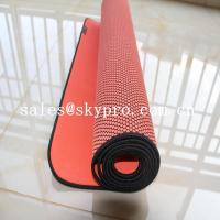 China Eco - Friendly Gym Mat Odorless Natural Rubber Sheet Soft Exercise Yoga Mat wholesale