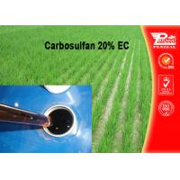 China Carbosulfan 20% EC Pest control insecticides 55285-14-8 wholesale