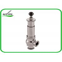 China Diary Food Grade Anitary Pressure Relief Valve Safety One Way Flow Direction wholesale