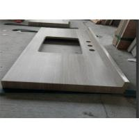 China Wooden Marble Prefabricated Vanity Countertops Elegant Appearance For Hotel wholesale