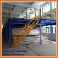 Wholesale Industrial Warehouse Storage Space-Saving Mezzanine Steel Platform from china suppliers