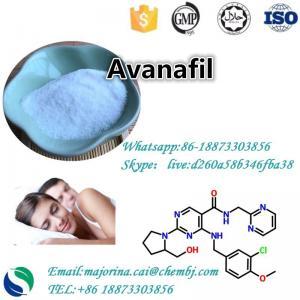China Avanafil Sexual Enhancement For Erectile Dysfunction CAS 330784-47-9 wholesale