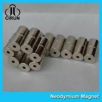 Professional Cylinder Strong Neodymium Magnets / Rare Earth Ndfeb N42 Magnet