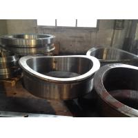 China High hardness Heavy Steel Forgings / titanium alloy steel flange Forging wholesale