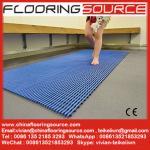 China PVC Tubular Matting Anti-slip Bath Room Mat Locker Room Mat Changing Room Mat wholesale