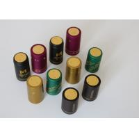 China Olive Oil Glass Heat Shrink Bottle Caps Gold Plating With Shrink Sleeve wholesale