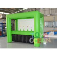 Quality Customized Green Color Inflatable Archery Sport Game For Adults Play for sale