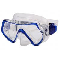 China Multi Color Youth Kids Diving Mask With Clear Vision Ergonomic Design wholesale