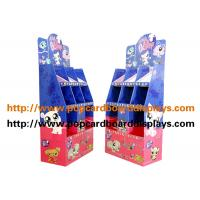 China Blue Color  Cardbpard Cosmetics Products Cardboard Floor Displays Recyclable wholesale