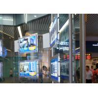 Quality Shop Window Ultra Slim Acylic Crystal LED Light Box For Portrait View Wall for sale