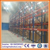 China Warehousing heavy duty pallet rack with steele beams by China supplier for storage wholesale